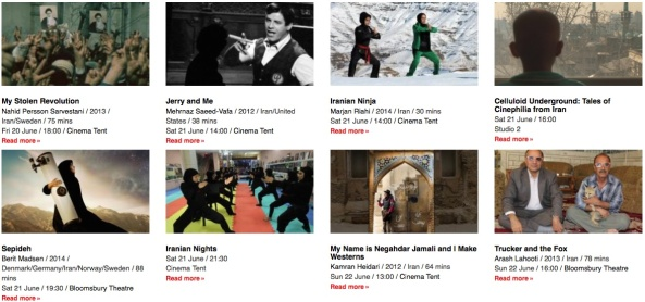 CINEMADOOSTI: DOCUMENTING IRAN